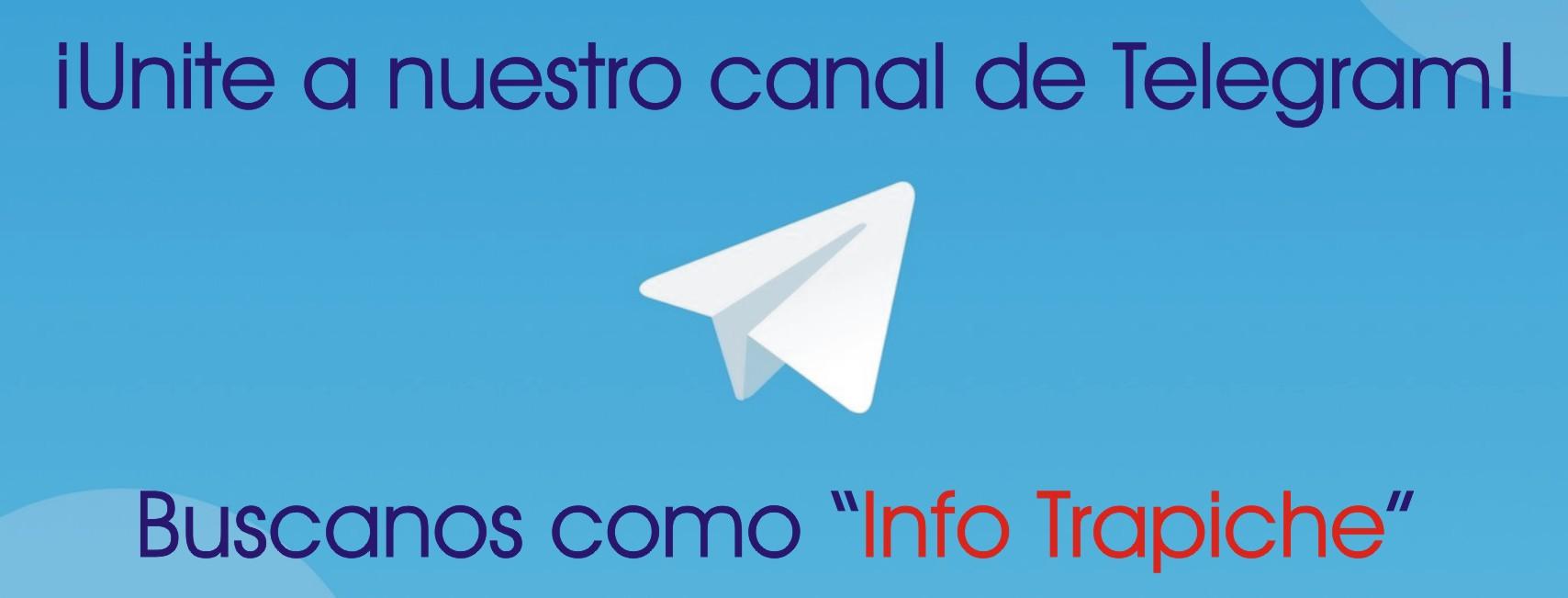 NUESTRO CANAL DE TELEGRAM!